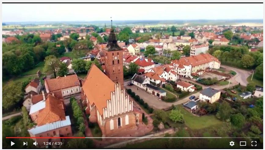 Susz Miasto Widziane Z Lotu Ptaka Gmina Susz